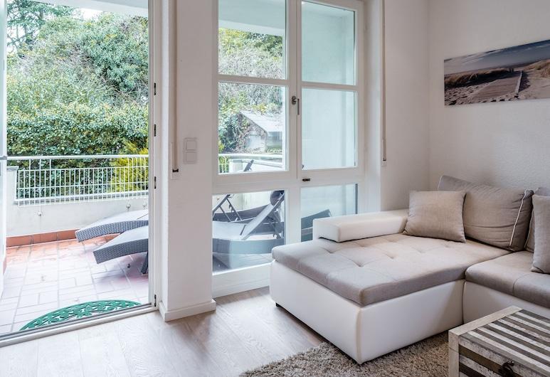GL Apartmenthouse, Wiesbaden, Lägenhet City - 1 sovrum - uteplats - trädgård, Terrass