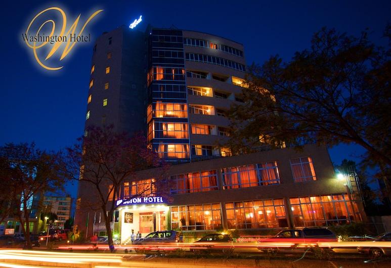 Washington Hotel, Addis-Abeba, Façade de l'hôtel