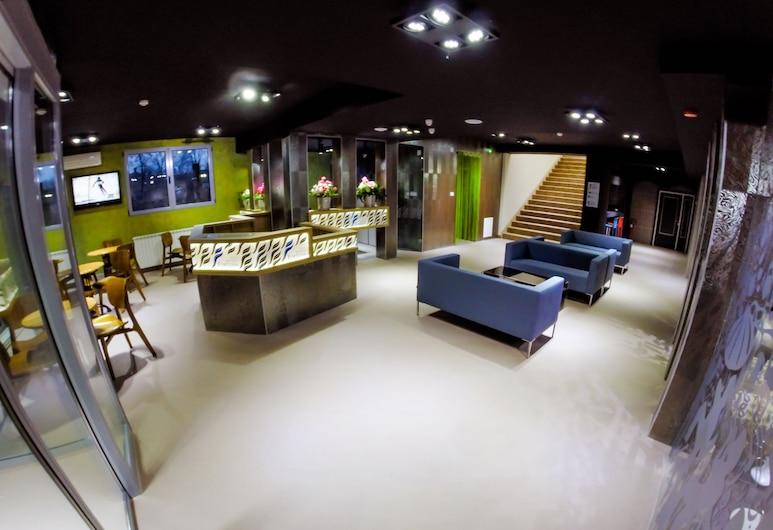 Garni Hotel Fortuna, Belgrad, Lobby-Lounge