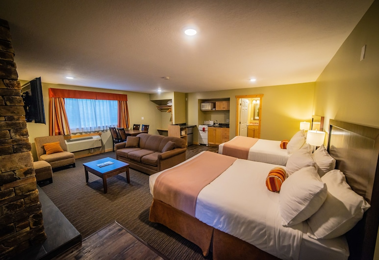 Alpine Inn & Suites, Nelson,  Fireplace Suite, Guest Room