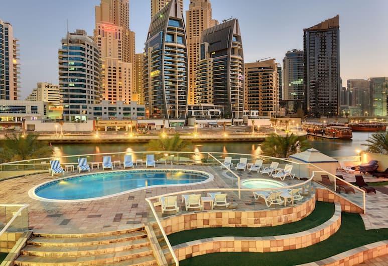 Pearl Marina Hotel Apartments, Dubajus, Išorė