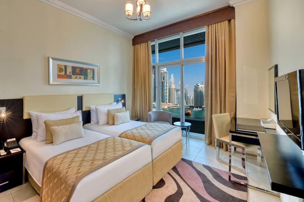 Aukščiausios klasės apartamentai, 1 miegamasis - Vaizdas į ežerą