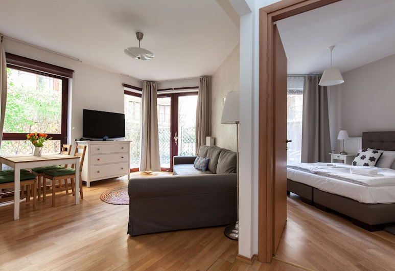 Town Hall Apartments, Budapeszt, Apartament z 1 sypialnią, Powierzchnia mieszkalna