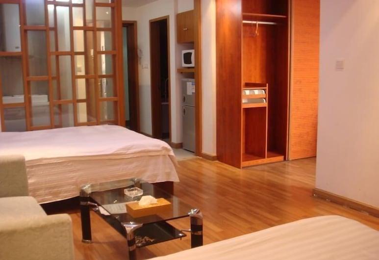 Nanjing Xuanyi Hotel Apartment, נאנג'ינג, חדר אורחים