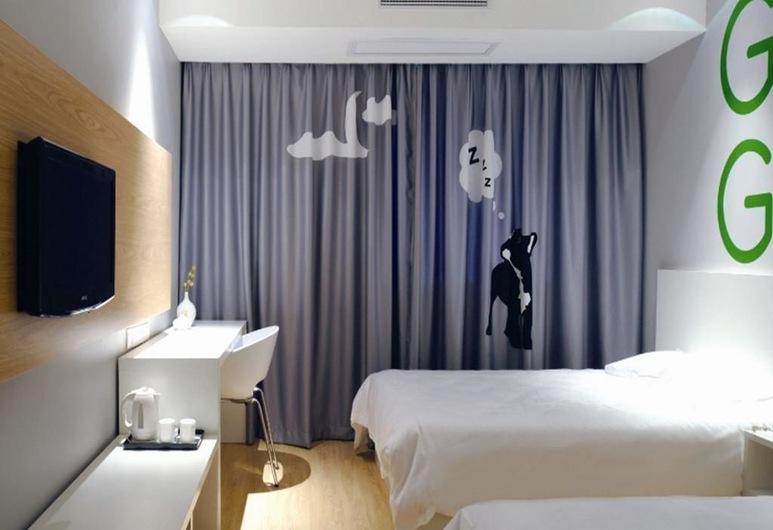 Motel 168 Shenzhen Futian Port Guihua Road Branch, Shenzhen, Guest Room