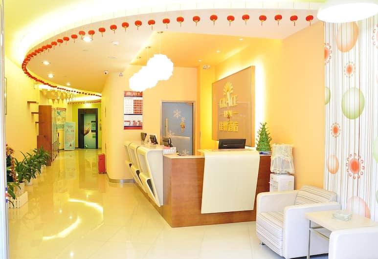 Home Inn Shenzhen Shuanglong Subway Station, שנזן, לובי