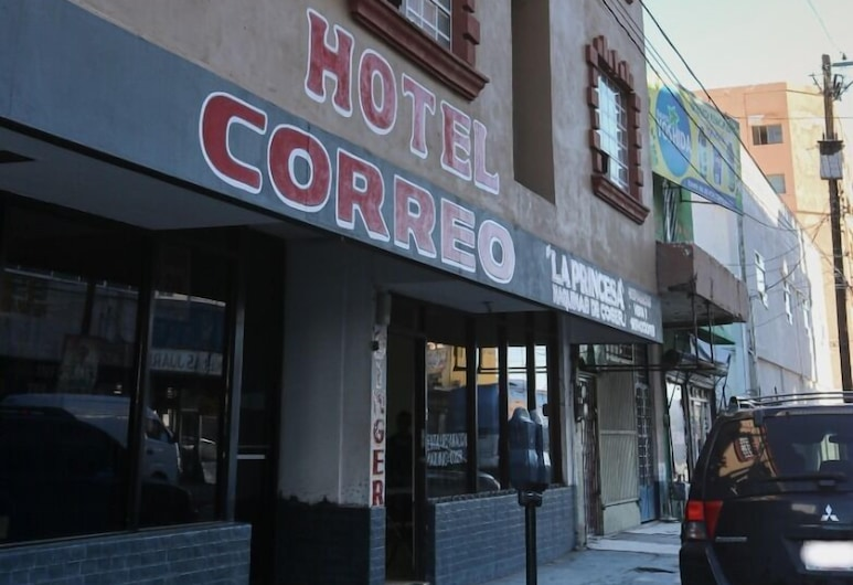 Hotel Correo, Ciudad Juarez, Bagian Depan Hotel