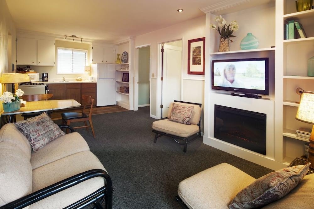 家庭套房, 2 間臥室, 非吸煙房, 簡易廚房 - 客廳