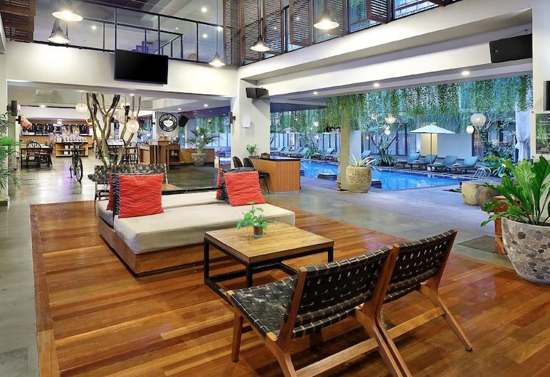 Hotel NEO+ Kuta, Legian by ASTON, Kuta, Khu lounge tiền sảnh
