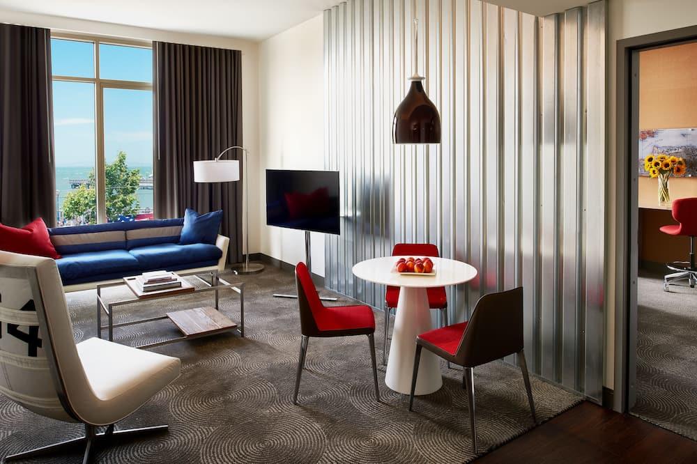 Suite Premium (Parlor - Waterfront) - Coin séjour