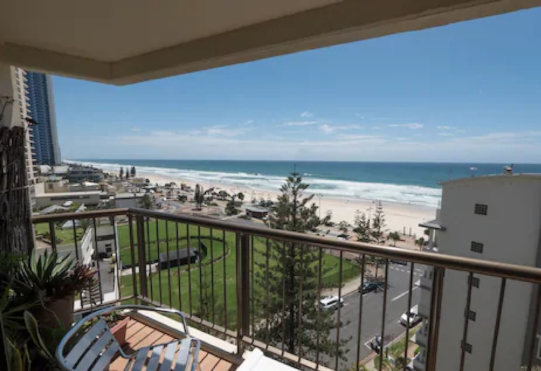 Aloha Apartments, Surfers Paradise, Apartamento, 1 habitación, vistas al mar, Balcón