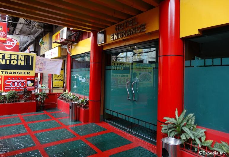 Hotel Sogo Pasay Rotonda, Pasay, Entrada do Hotel
