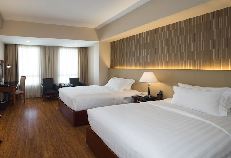 Nhat Ha 1 Hotel, Ho Chi Minh City, Luxury Twin with View, Guest Room