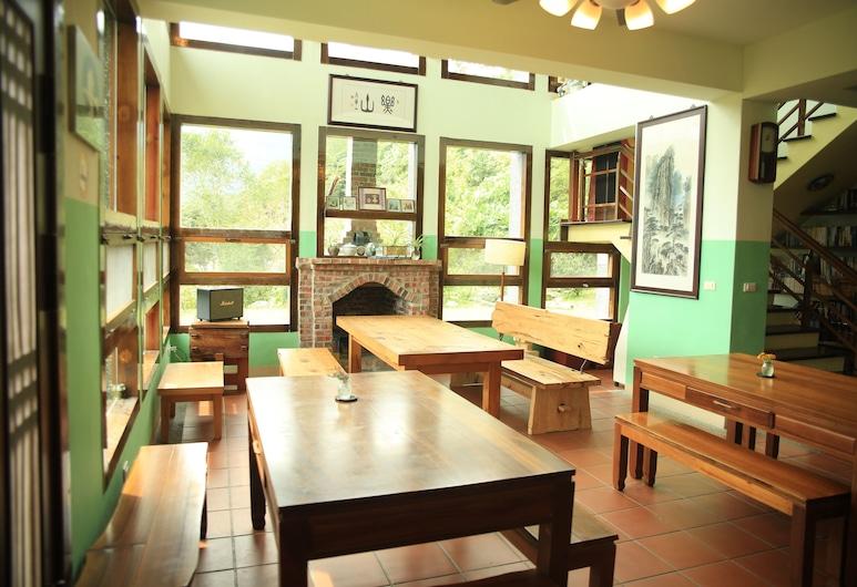 Taroko Mountain Dream Homestay B&B, Xiulin, אזור ישיבה בלובי