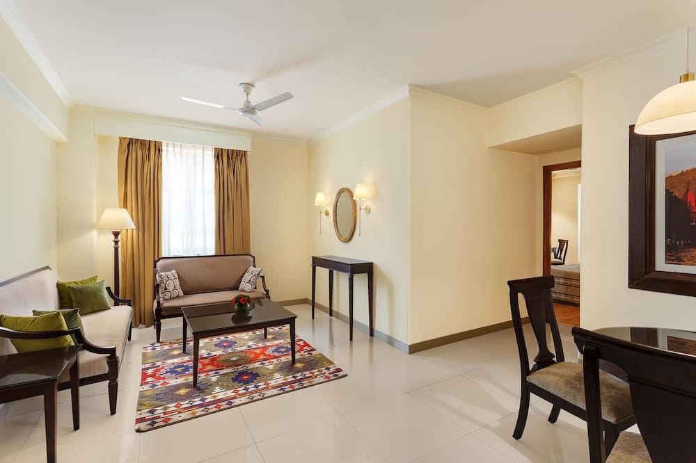 Two Bedroom Apartment ( Garden Facing) - Living Area