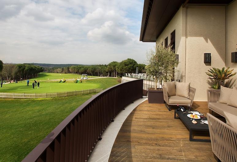 Kemer Country Hotel, Eyup, Grand sviit, 1 magamistoaga, ühendatavad naaberruumid, vaade golfirajale, Tuba