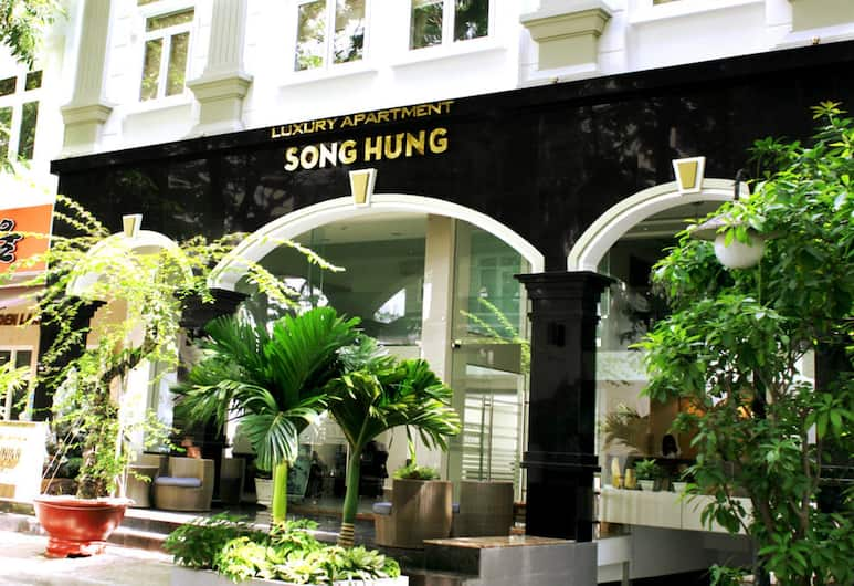 Song Hung Hotel & Serviced Apartments, Ho Chi Minh-Stad, Ingang van de accommodatie