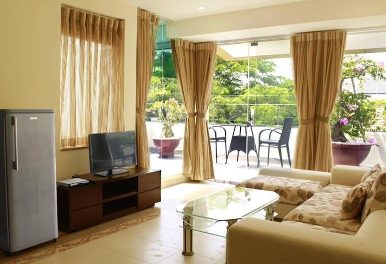 Song Hung Hotel & Serviced Apartments, Ho Chi Minh City, Diamond One Bedroom Apartment, Living Room