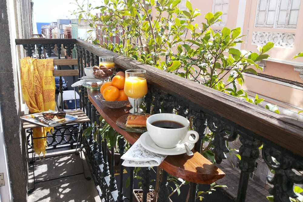 Værelse - fælles badeværelse (Balcony) - Altan