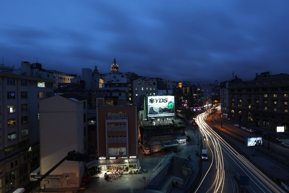 Superior Double Room with Balcony and Galata Tower view - Vaizdas į miestą