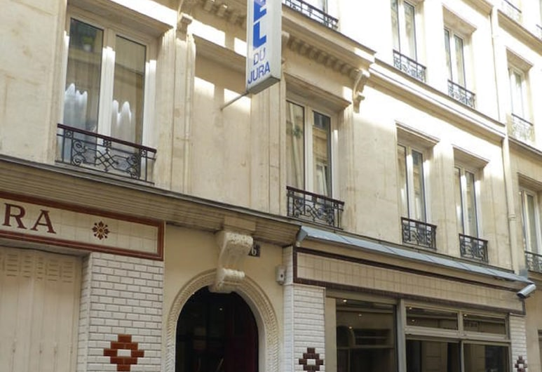 Hôtel du Jura, Paris, Hotel Front