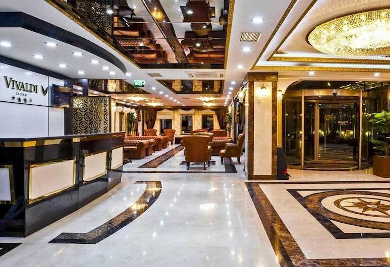 Vivaldi CE Gold Hotel, Ankara, Lobi