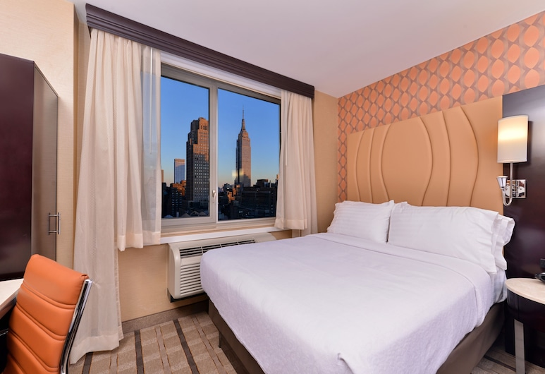Holiday Inn New York City - Times Square, an IHG Hotel, New York, Room, 1 King Bed, Non Smoking, View (Manhattan View), City View