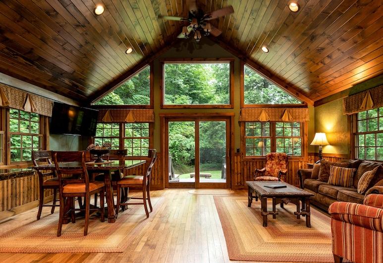 Historic Tapoco Lodge, רובינסוויל, בקתה (White Oak 1), חדר