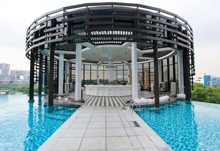 Park Hotel Alexandra, Singapura, Bar Tepi Kolam Renang