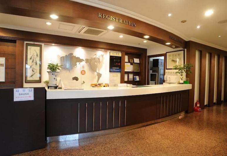 Gwang Jang Hotel, Busan, Reception