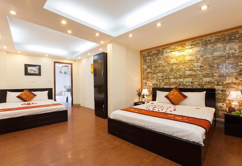 Rendezvous Boutique Hotel, Hanoi, Familiekamer, Kamer
