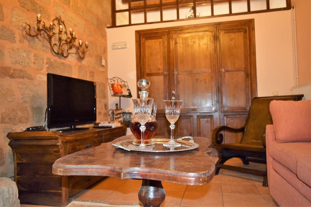 Suite familiar, balcón - Sala de estar
