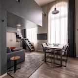 Camera familiare, 1 camera da letto, 2 bagni, al piano ammezzato - Area soggiorno