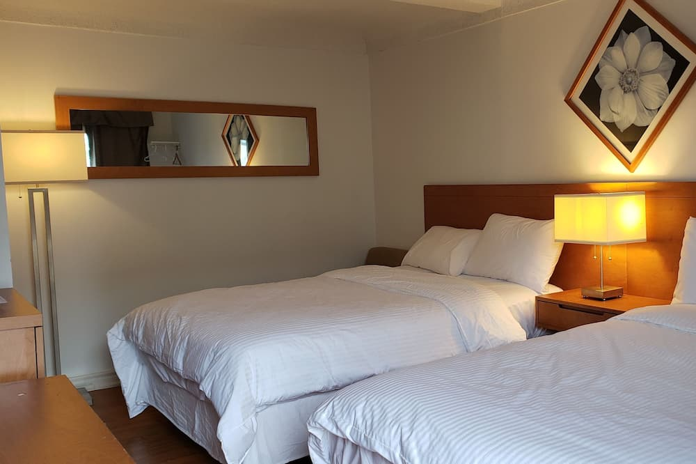 Economy Room, 2 Double Beds - Guest Room