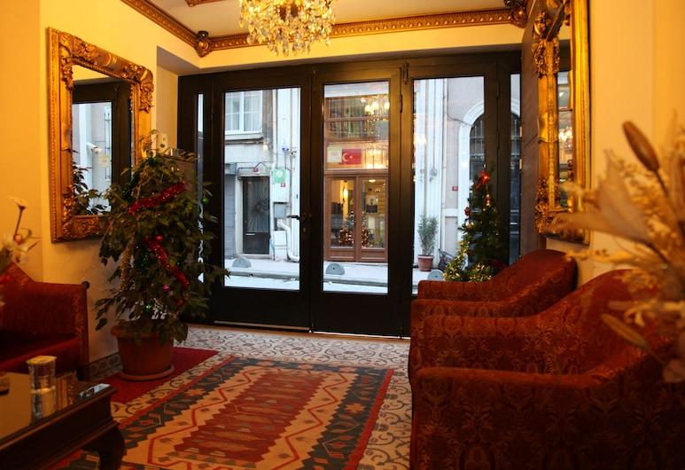 Borancik Suites, Istanbul, Salottino della hall