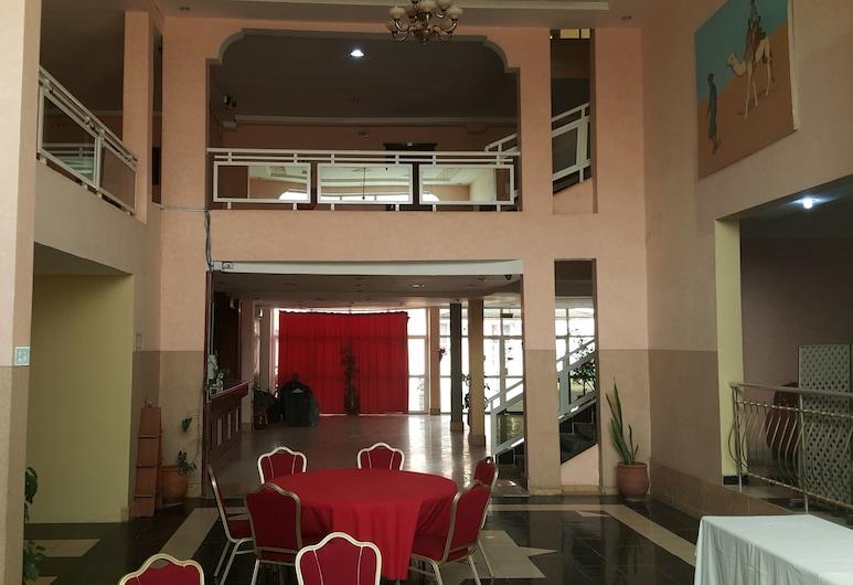 Hotel Atlantic, Nouakchott, Interni dell'hotel