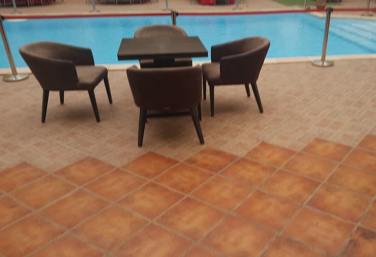 Hotel Wissal, Nouakchott, Udendørs pool