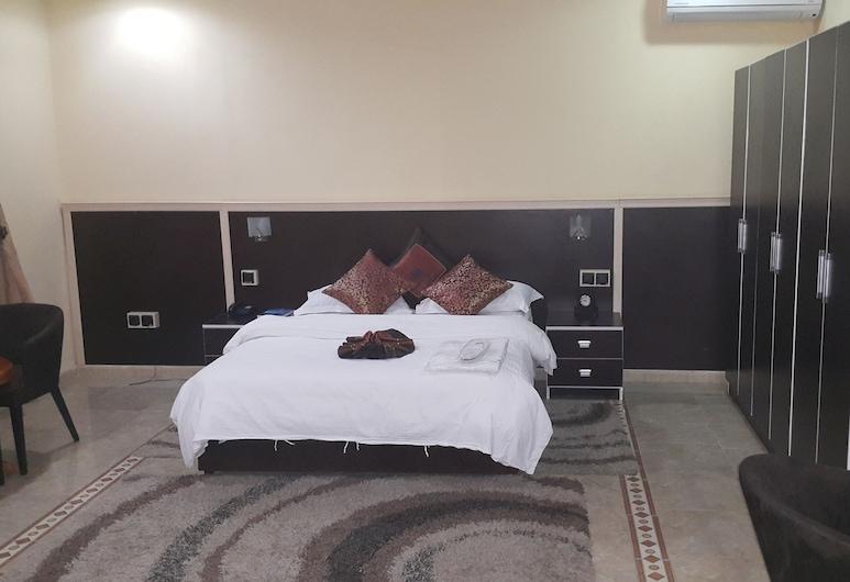 Hotel Wissal, Nouakchott, standartinis vienvietis kambarys, Svečių kambarys