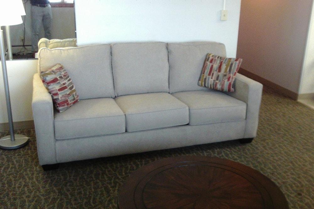 Family Suite, 1 Bedroom, Non Smoking, Refrigerator & Microwave - Living Area