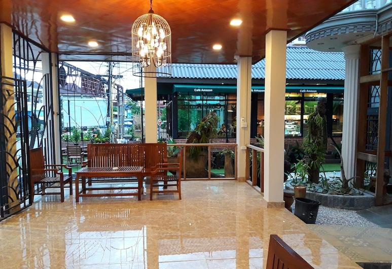 Laos Haven Hotel, Vang Vieng, Lobby Sitting Area