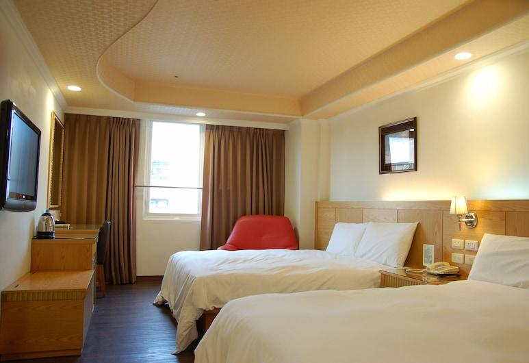 高雄巴黎香舍飯店, 高雄市, 標準四人房, 2 張標準雙人床, 客房