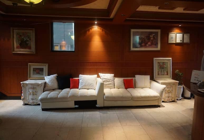Picasso Motel, Busan, Ruang Duduk Lobi