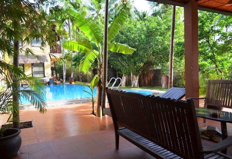Rang Garden Hill Side Resort, พานเทียต, สระว่ายน้ำกลางแจ้ง