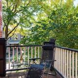 Classic Apart Daire, 2 Yatak Odası, Bahçe Manzaralı - Balkon