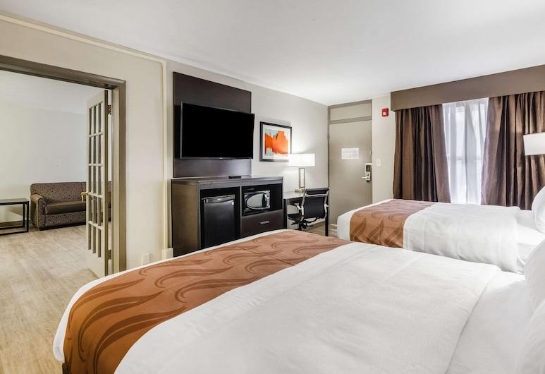 Quality Inn, Bristol, Apartmá, 2 dvojlůžka (180 cm), nekuřácký, Pokoj