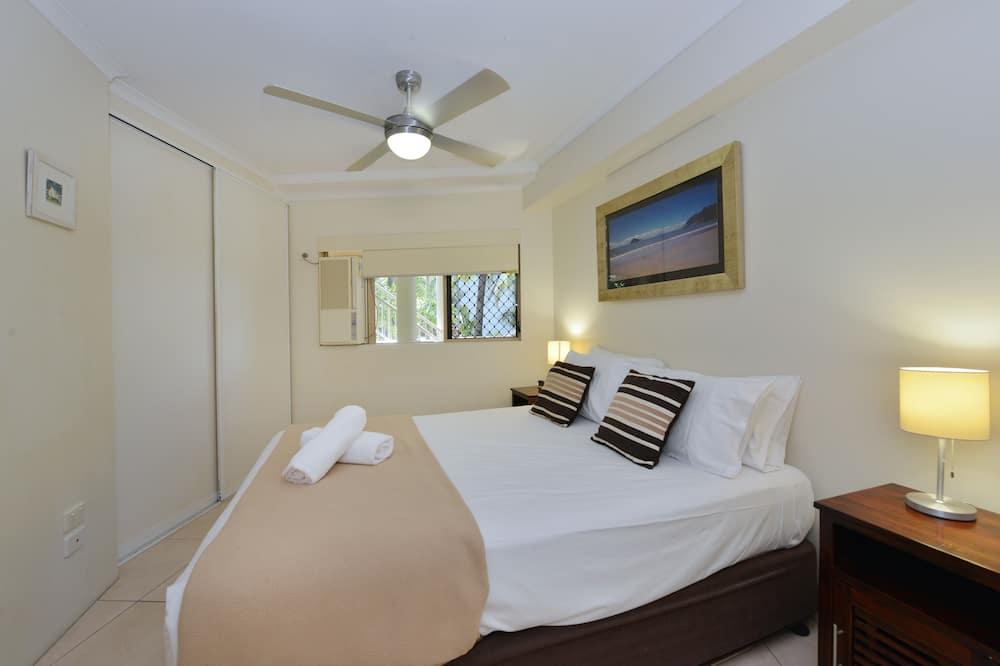 شقة عائلية - ٣ غرف نوم - بشرفة - بمنظر للمنتجع - منطقة المعيشة