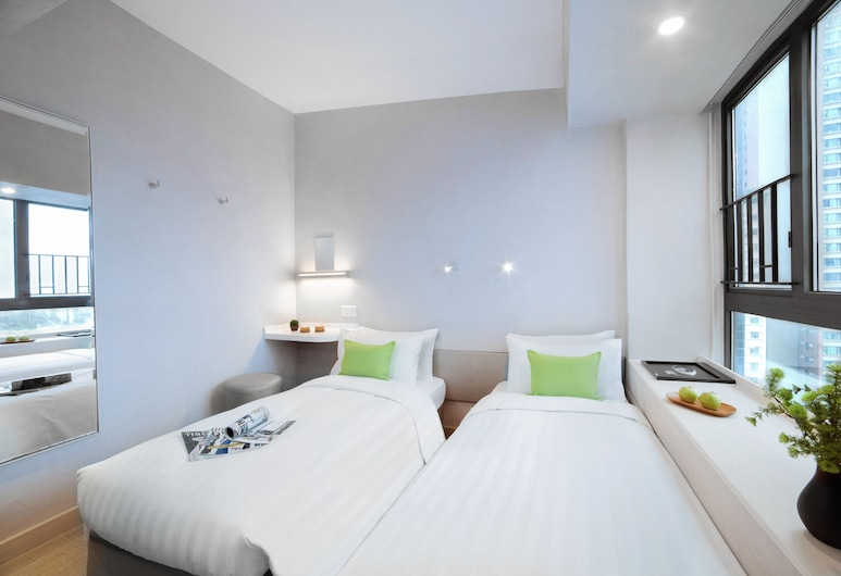 Hotel Ease Mong Kok, Kowloon, Superior Ease Double or Twin Room, Guest Room