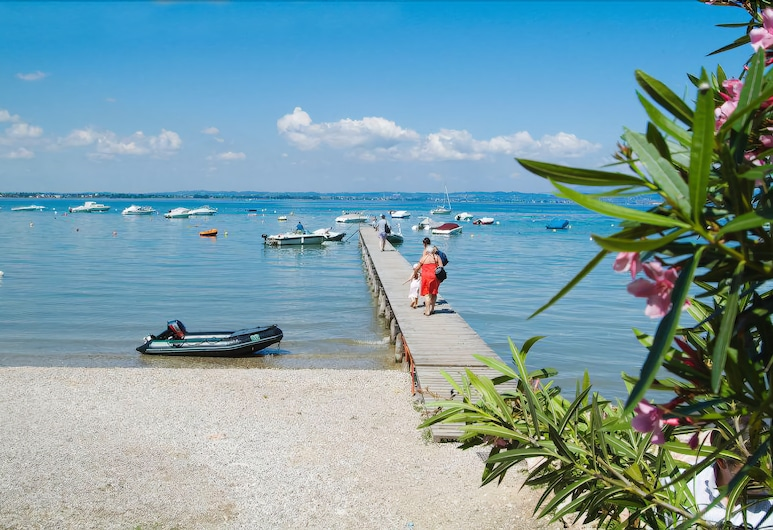 Camping le Palme - Campground, Lazise, Strand