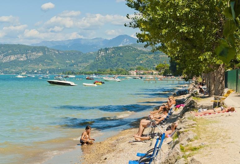 Camping Cisano, Bardolino, Pláž