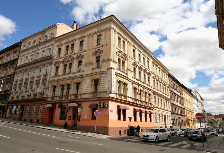 Hotel ANETTE, Praga, Entrada do hotel
